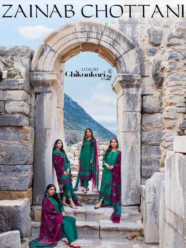 Zainab Chottani Luxury Chikankari'21