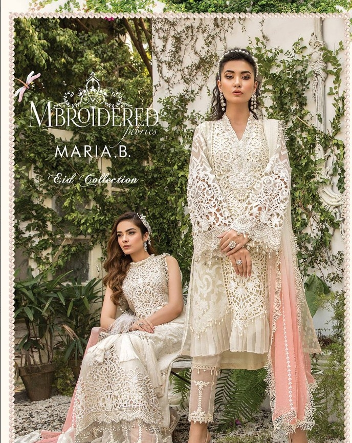 """Maria.B """"Mbroidered"""" Eid Collection'20"""
