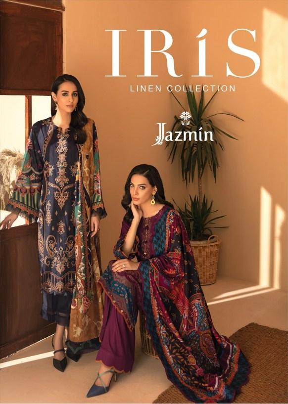 Virsa Iris Linen Collection'20