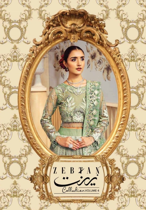 Zeenat Chiffon Collection By Zebtan VOL-04