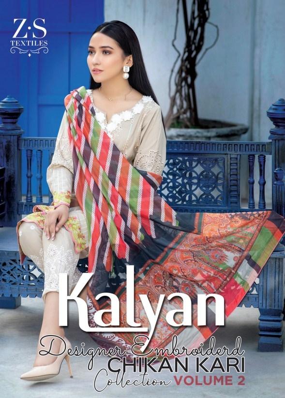 Kalyan Embroidered Chikankari'21