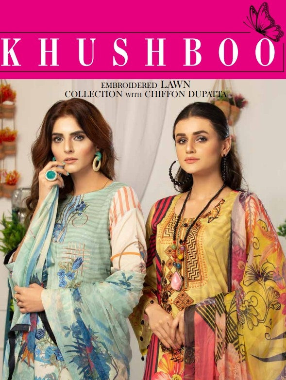 Khusboo Embroidered Lawn'21