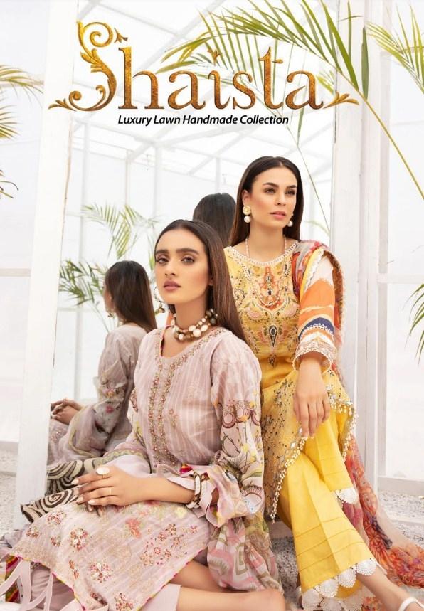 Shaista Luxury Lawn'21