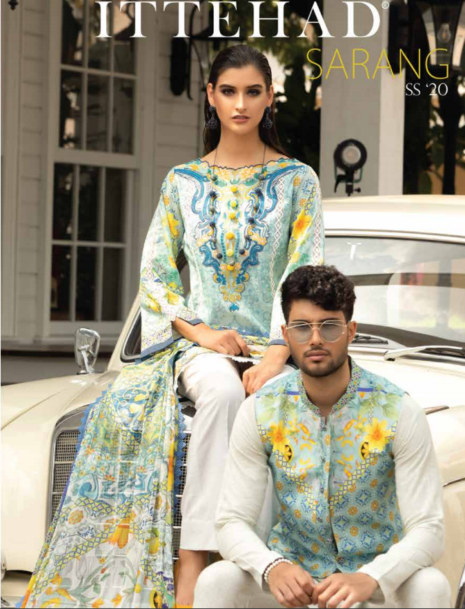 Ittehad Sarang S/S Collection'20