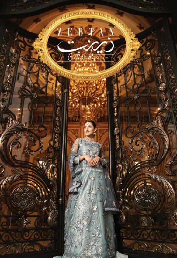Zeenat Chiffon By Zebtan'21