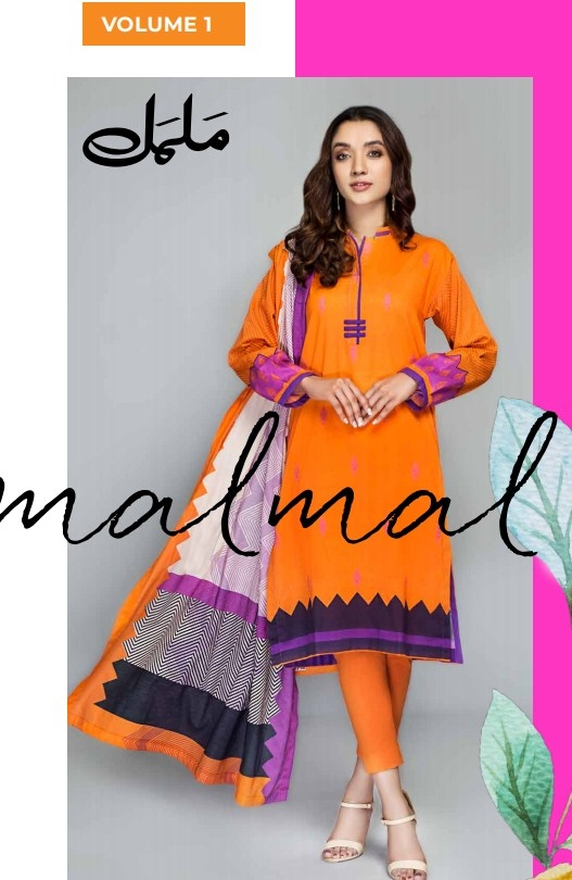 Gul Ahmed Malmal Collection'21