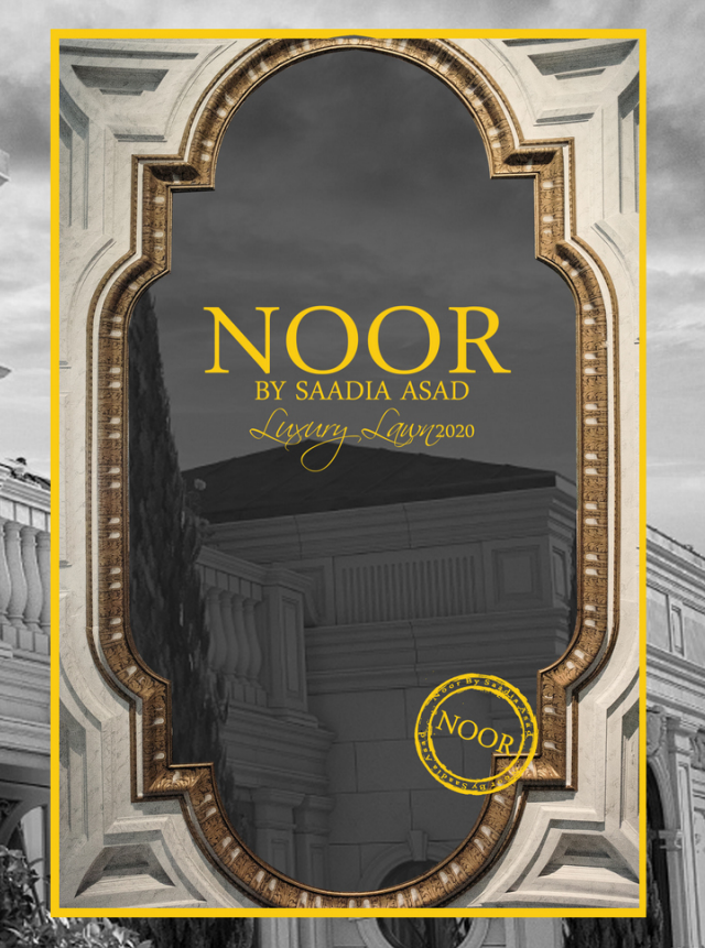 Noor By Saadia Asad Luxury Lawn'20