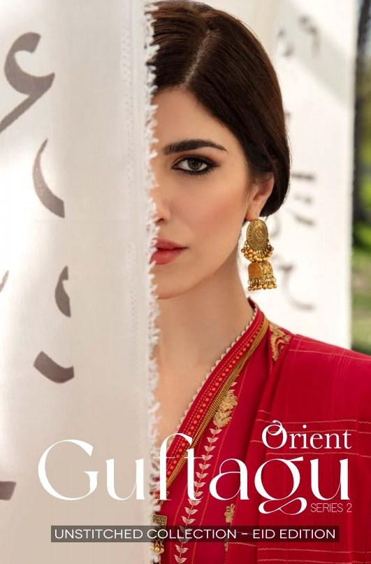 Orient Guftagu Unstitched Eid Collection'21
