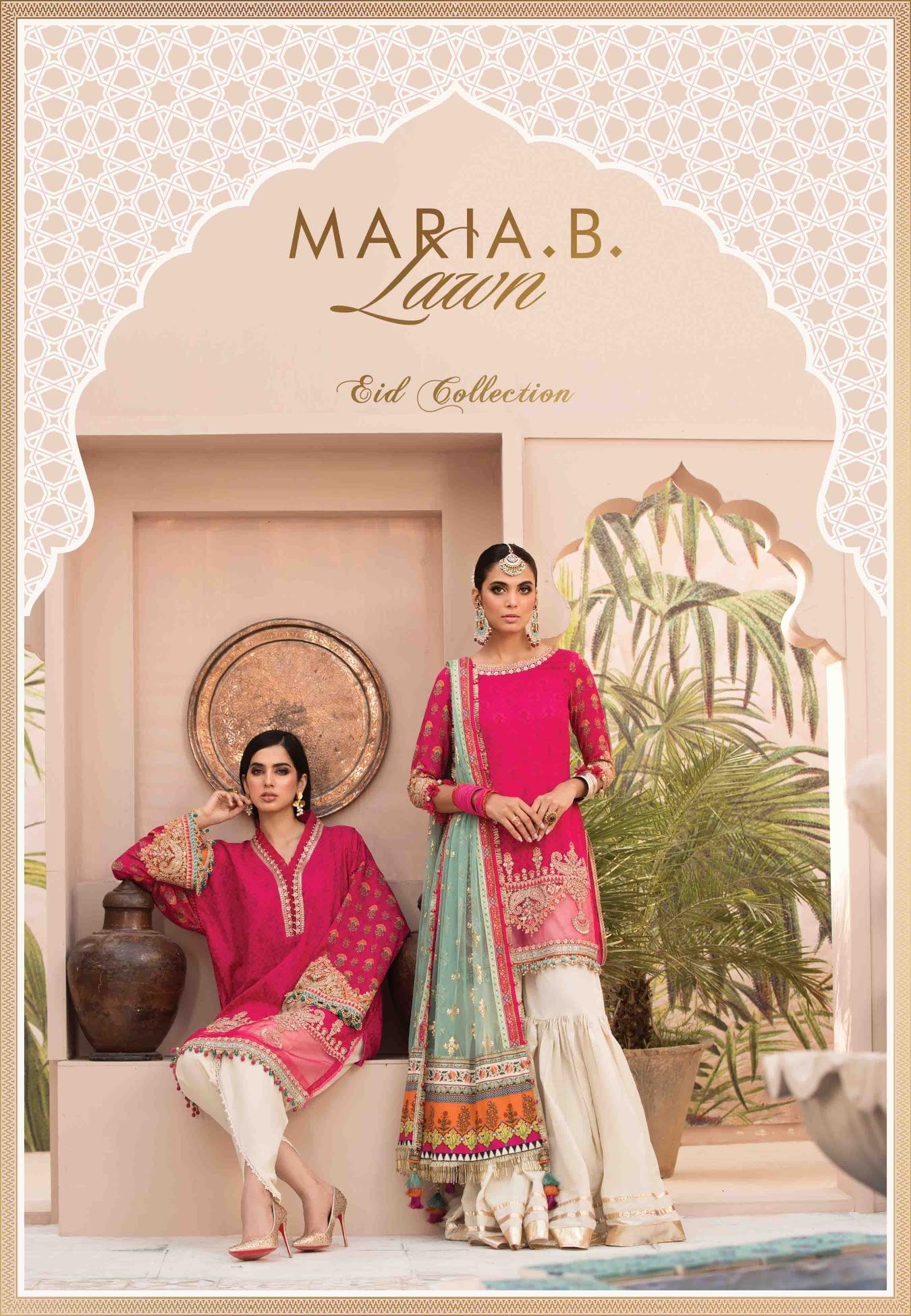 Maria.B Lawn Eid Collection'21