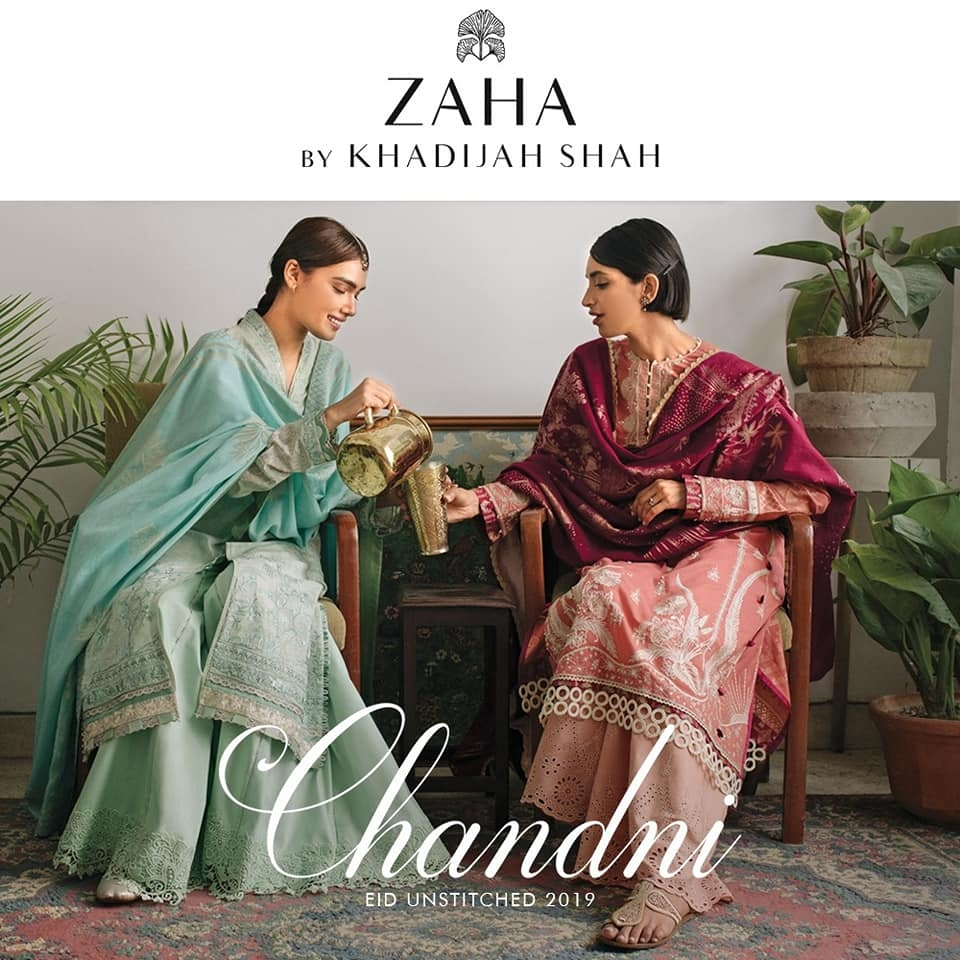 Zaha Festive Collection Chandni'19