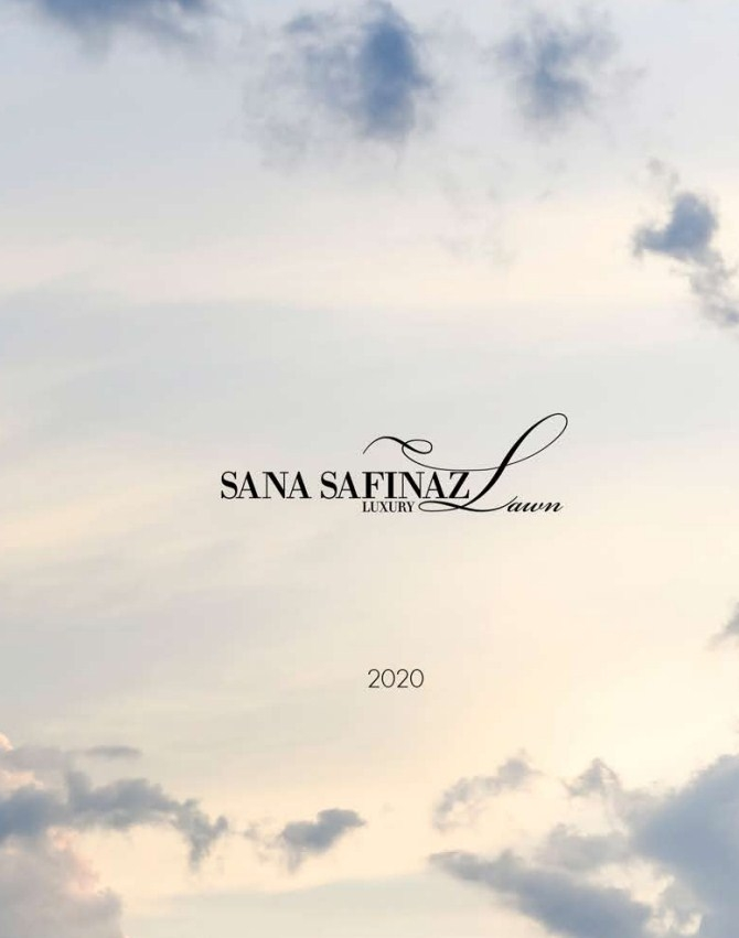 Sana Safinaz Luxury Lawn'2020