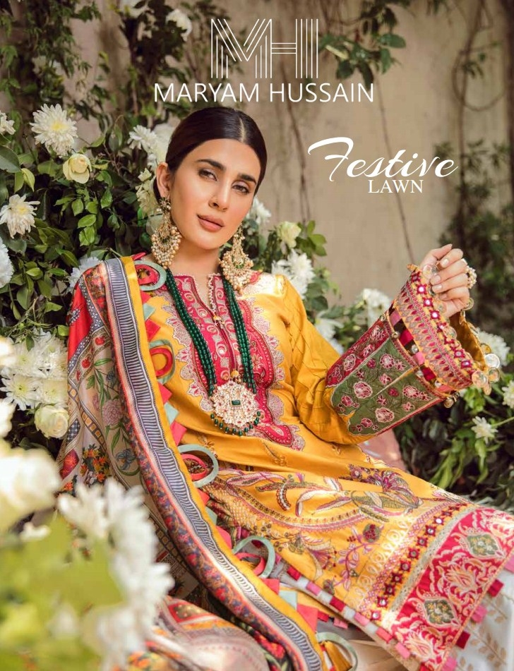 Maryam Hussain Festive Lawn'20