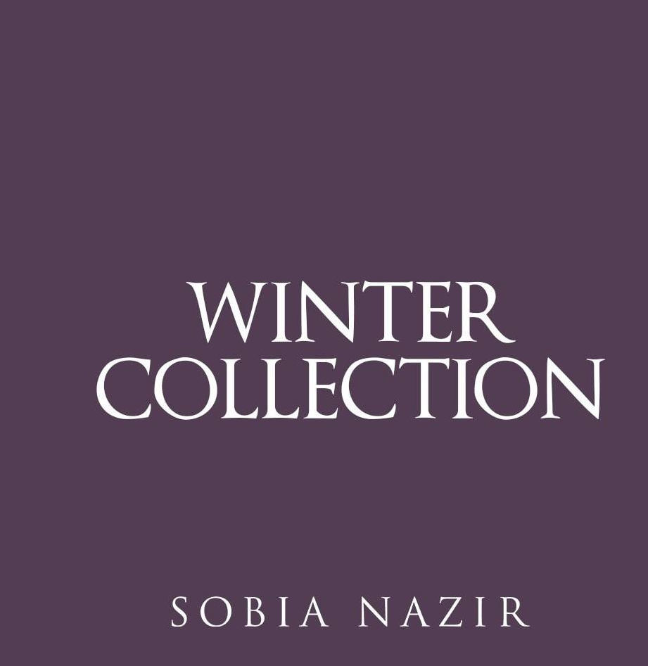 Sobia Nazir Winter Collection