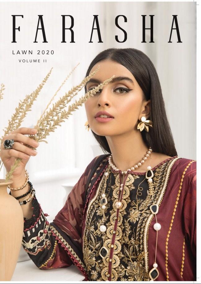 Farasha Lawn Collection'20