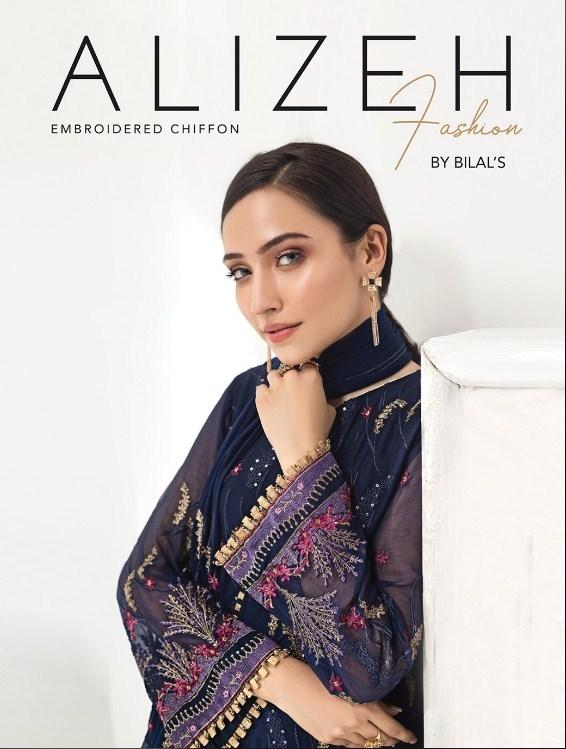 Alizeh Embroidered Chiffon'20