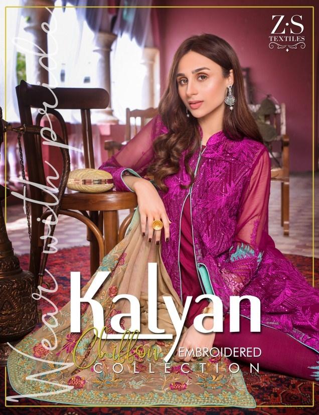 Kalyan Chiffon EMB Collection'20