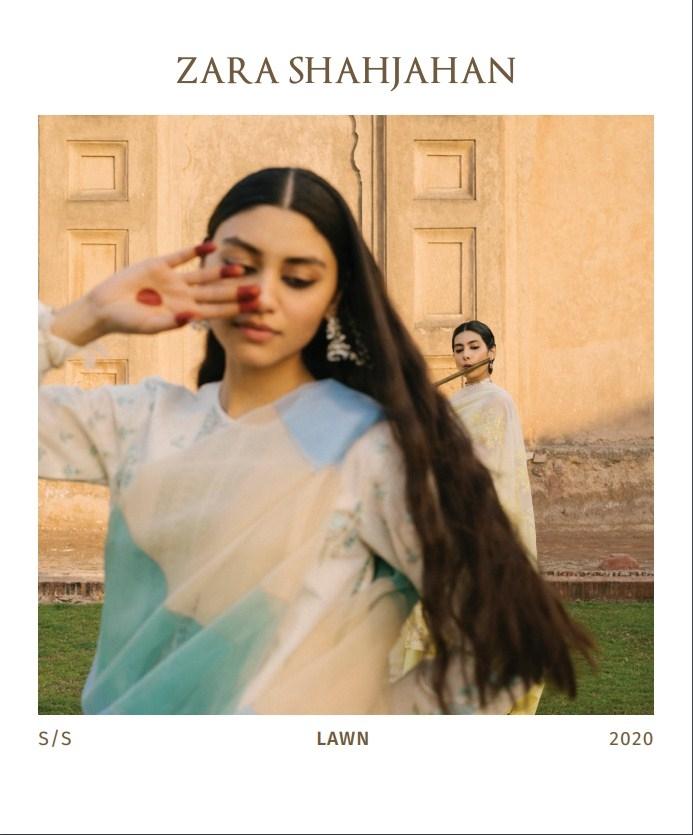 """Zara Shahjahan """"Garden Of Love"""" S/S Lawn'20"""