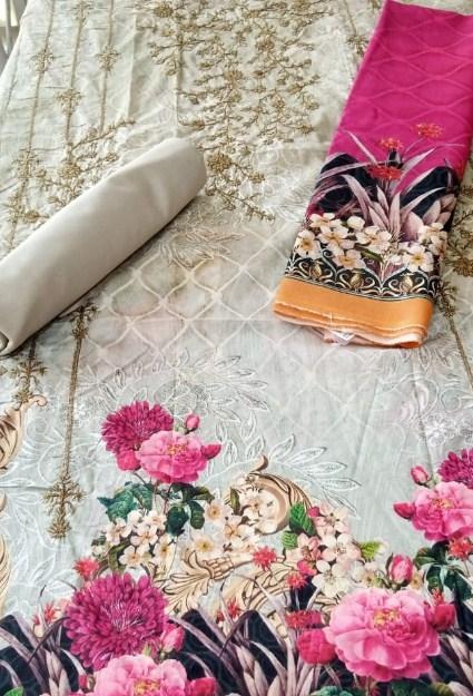 Bin Saeed Embroidered