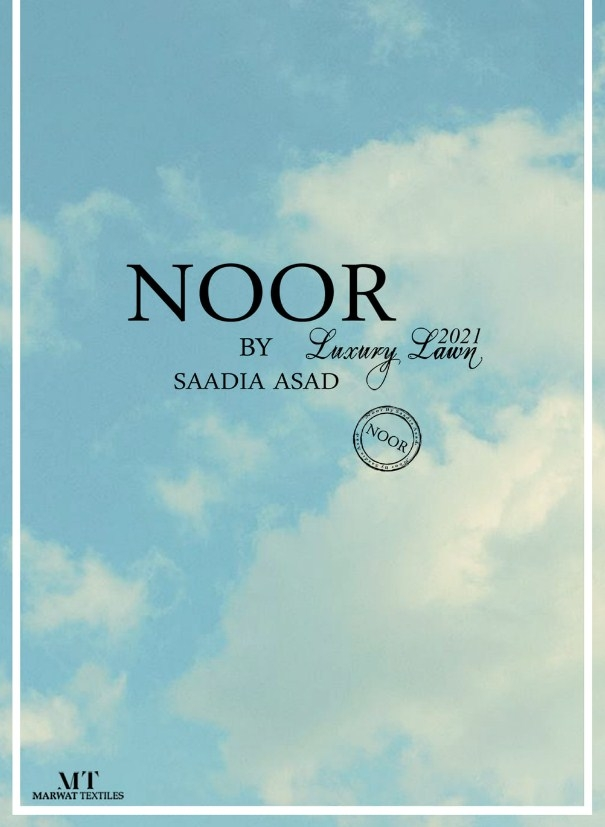 Noor By Luxury Lawn'2021