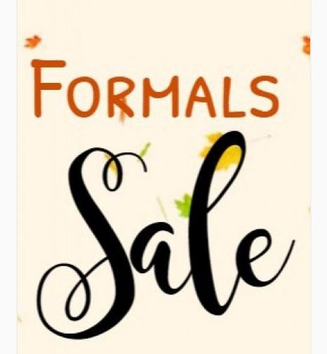 Formals Sale